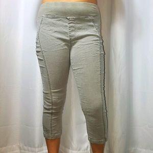 XCVI stretch pants light grey denim blend jeggging